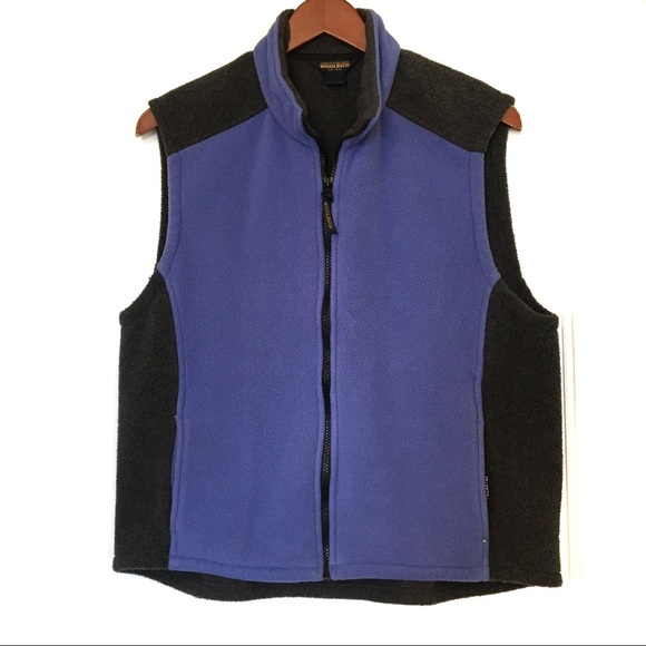 Woolrich Jackets & Blazers - Woolrich Blue & Grey Vest Size XL